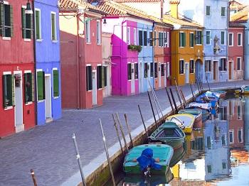 Красочный Остров Бурано