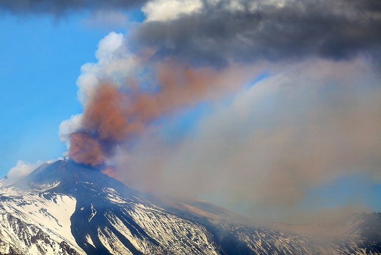 На склоне вулкана