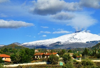 Рядом с вулканом Этна