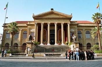 Театр Массимо в Палермо