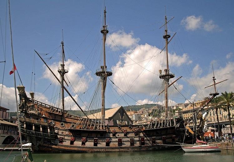 Итальянский портовый город