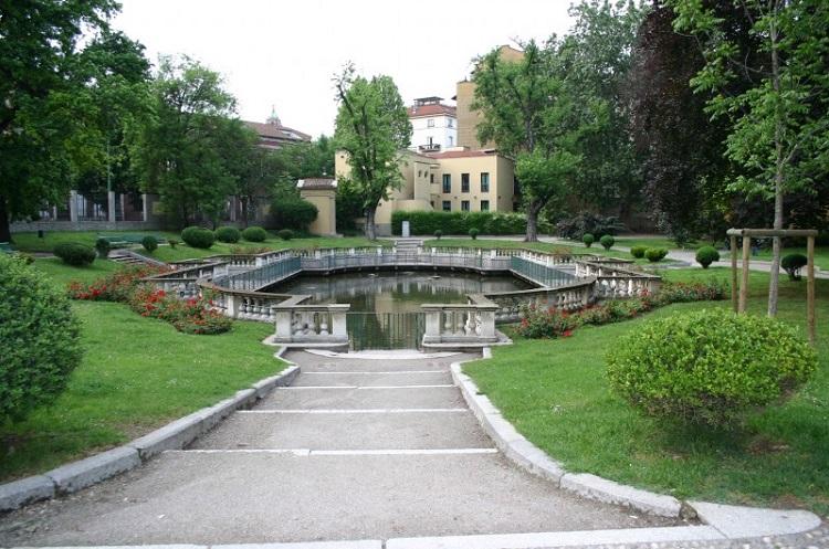 Городской парк в Милане