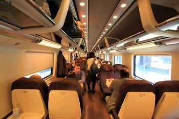 В поезде из Рима во Флоренцию