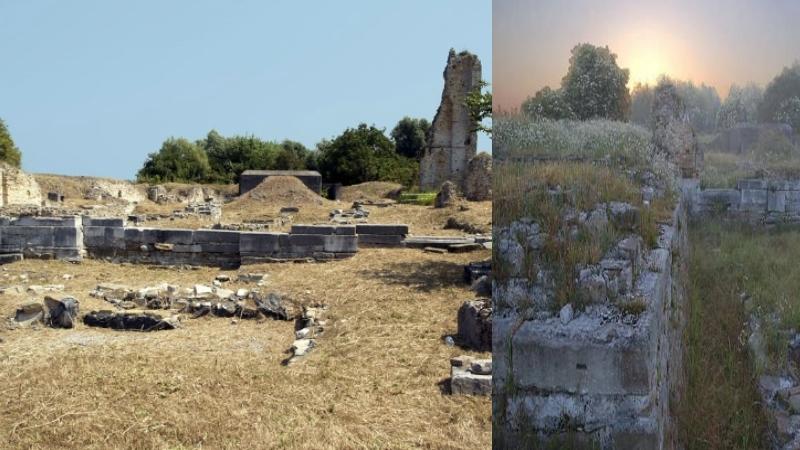 Археологическая зона в Лидо ди Езоло Антике Мура