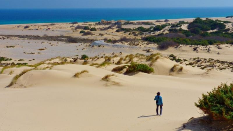 Дюны Пишинас в Сардинии