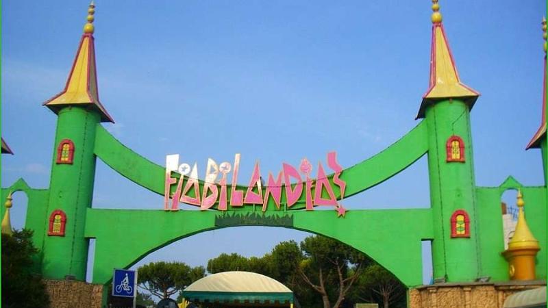 Фронтальная часть парка развлечений Фьябиландия