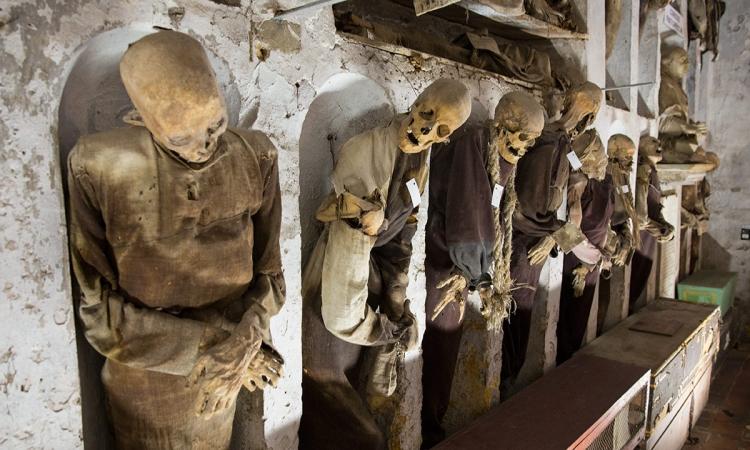 Музей мертвецов - Катакомбы капуцинов в Палермо