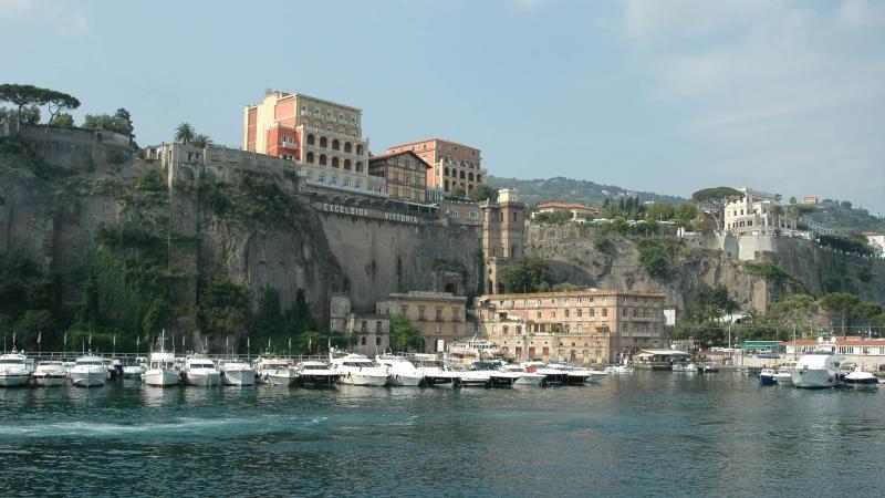 Неаполь - фото с моря