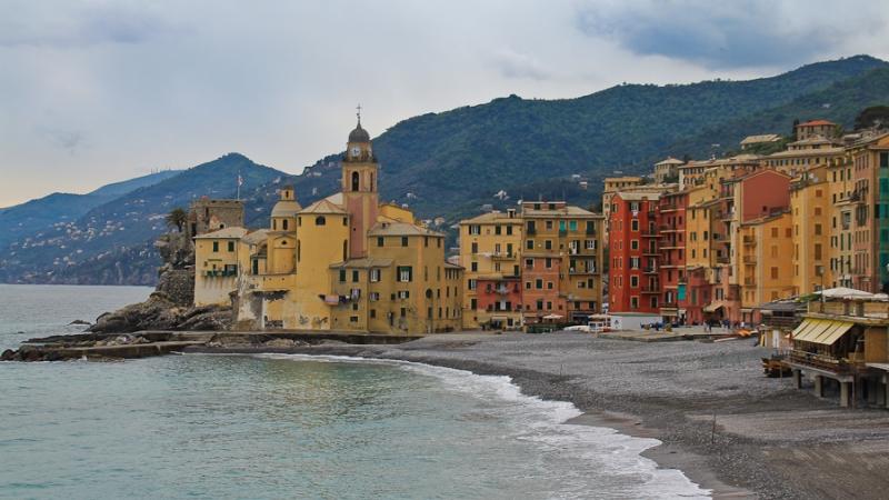 Побережье в Генуе