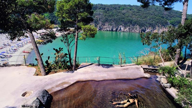 Термальный парк Негомбо на острове Искья