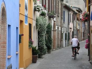 Улицы в Римини - сами по себе достопримечательности