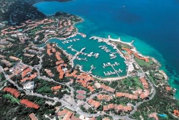 Вид на остров Сардиния сверху