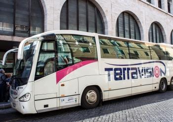Как добраться в рим из Фьюмичино на автобусе?