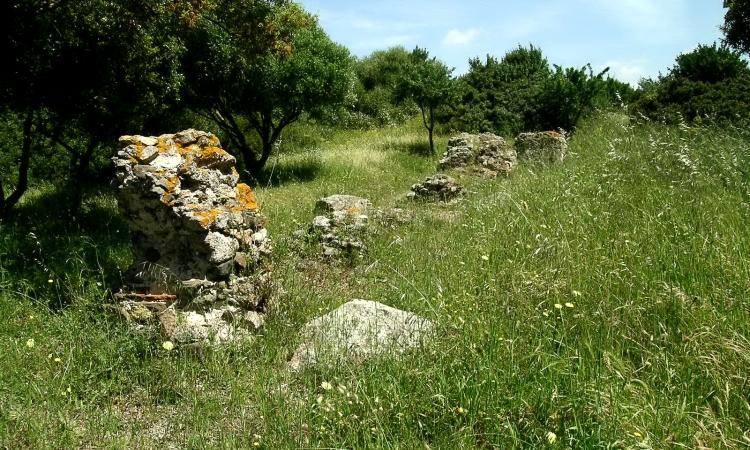 Остатки древнеримского акведука в Ольбии