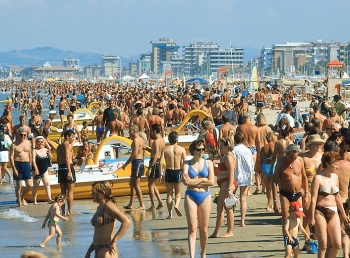 Отзывы о пляжах и море Римини, а также советы по их посещению