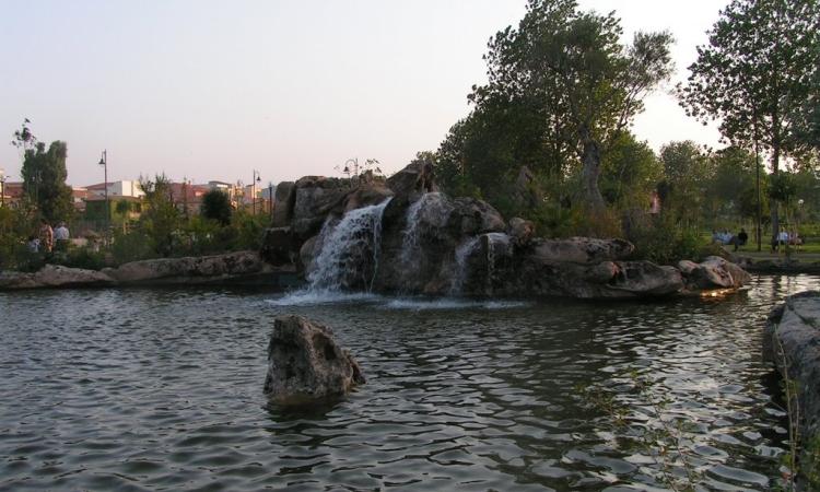 Парк в центре Ольбии - Фаусто Ноче