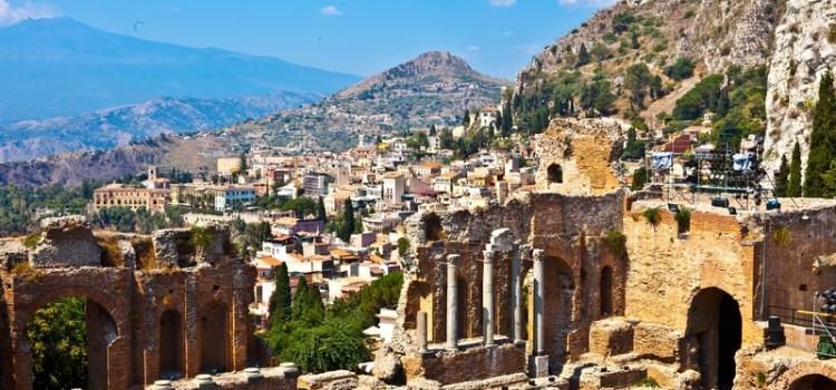 Прекрасная жемчужина Сицилии Таормина и фото ее красот