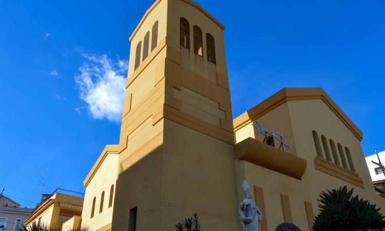Церковь Сан-Панкрацио в Джардини Наксос