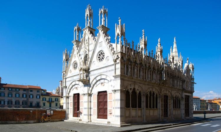 Церковь Санта-Мария дела Спина в Пизе