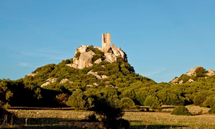 Замок Педрес в Ольбии