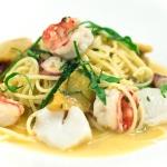 Рецепты пасты с морепродуктами в сливочном соусе