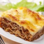 Рецепты приготовления лазаньи с фаршем и не только дома
