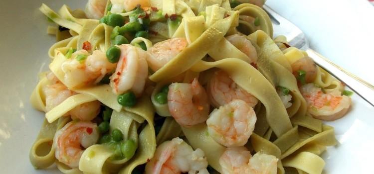 Вкуснейшие рецепты пасты с креветками в сливочном соусе