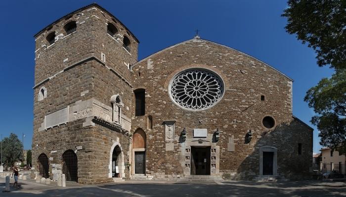 Замок Святого Иуста в городе Триесте