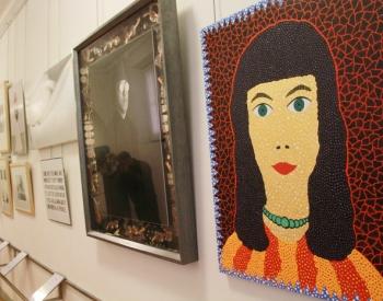 Автопортреты художников в Коридоре Вазари