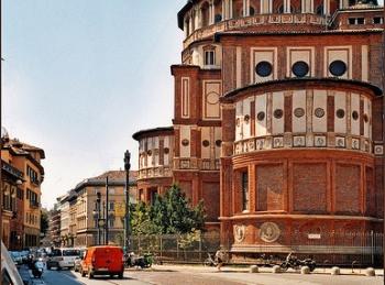 Как добраться до церкви Санта-Мария-делле-Грацие в Милане