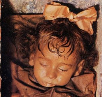 Мумия двухлетней Розалии Ломбардо