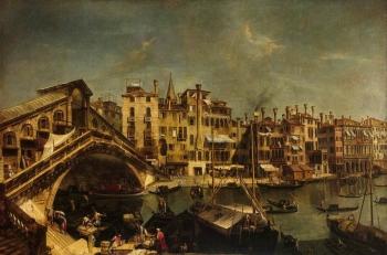 Немного подробностей из истории моста Риальто