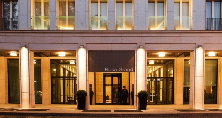 Внешний вид отеля Starhotels Rosa Grand