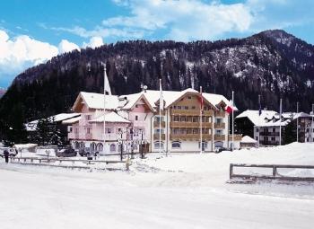 Инфраструктура горнолыжного курорта Канацеи в Италии