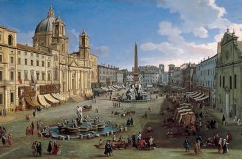 История строительства и развития Пьяцца Навона в Риме