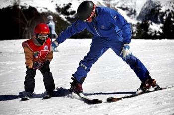 В Канацеи есть лыжная школа