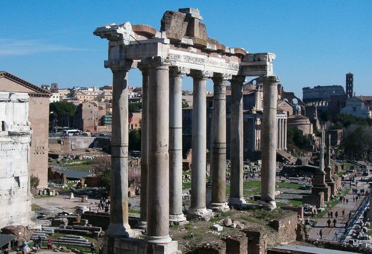 Храм Сатурна - архитектурные достопримечательности Римского Форума