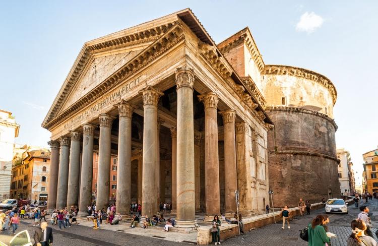 Пантеон в Риме - внешний вид