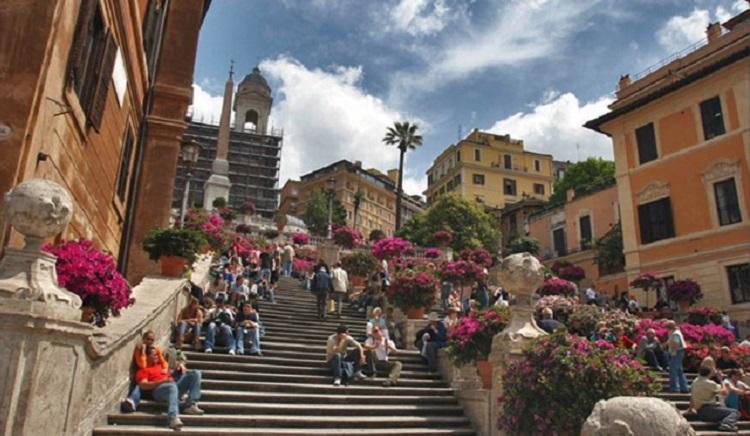 История строительства достопримечательности Рима - Испанской лестницы