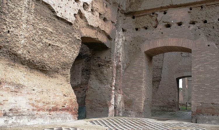 История строительства достопримечательности Рима - терм Каракалл
