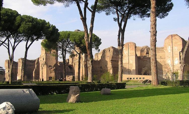 Описание достопримечательности - терм Каракаллы в Риме