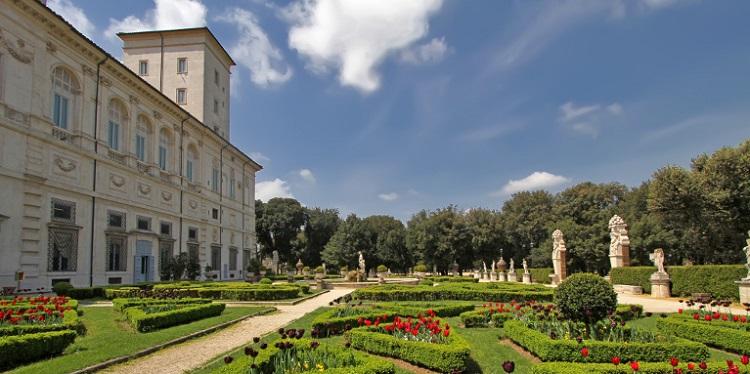 Парк виллы Боргезе - описание достопримечательности Италии