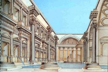 Термы Каракаллы - как выглядело строение до разрушения