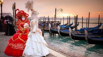 Венецианский карнавал в Италии - история празднования