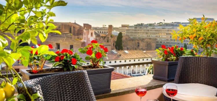 Самые популярные отели Рима