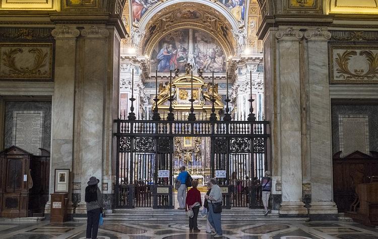 Базилика Санта-Мария-Маджоре и Капелла Боргезе