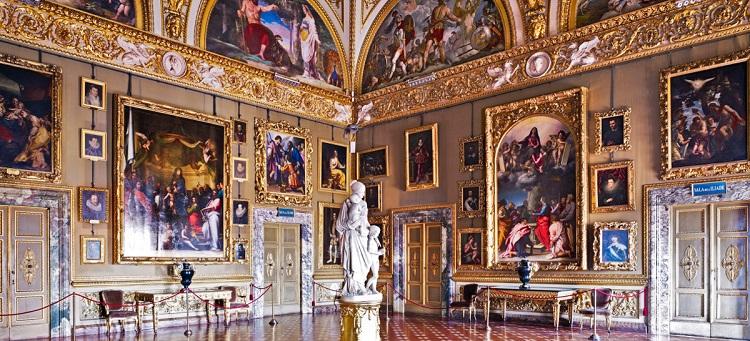 Дворец Палаццо Питти и его жемчужина- Палатинская галерея