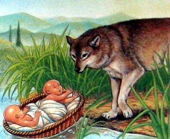 О знаменитой легенде основания Рима - Капитолийская волчица, вскормившая Ромула и Рема
