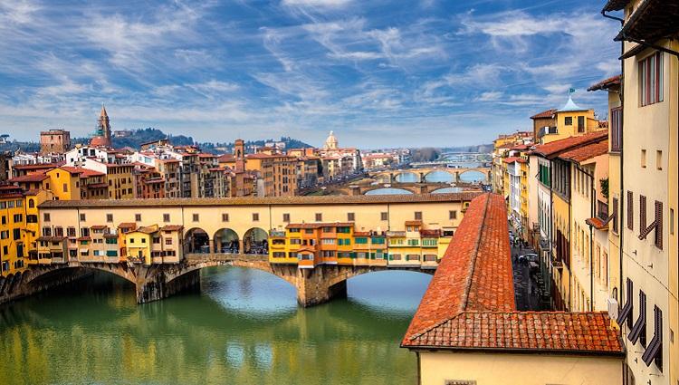 Смотровая площадка моста Понте Веккьо - фото с описанием