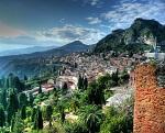 Город Таормина на Сицилии и его достопримечательности